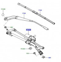 LINKAGE WINDSCREEN WIPER SYSTEM LR002254
