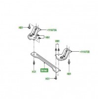 CROSSMEMBER FRONT SUSPENSION LR006225