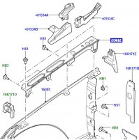 BRACKET FENDER MOUNTING RIGHT HAND CATEGORY B UPPER LR056962