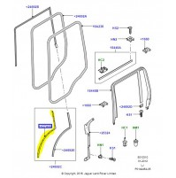 RETAINER - WEATHERSTRIP    LEFT HAND         LR031396