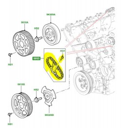 TIMING CHAIN AND TENSIONER KIT 1316113