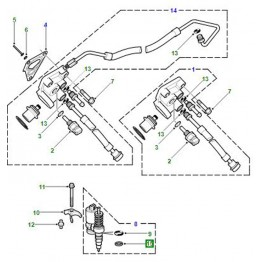 COPPER WASHER-INJECTOR SEALING TD5      ERR6417