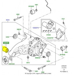 BUSH FRONT AND REAR DIFFERENTIAL   KQB000133