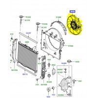 FAN ASSEMBLY ENGINE COOLING LR023392