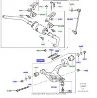 ARM - FRONT SUSPENSION  RH, LOWER               LR029301