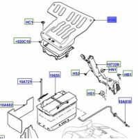 COVER - BATTERY BOX LR079167