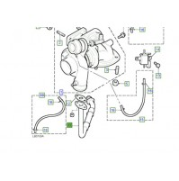 0PIPE OIL DRAIN - TURBOCHARGER PNH101840