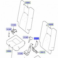 COVER - SEAT RECLINING MECHANISM LEFT HAND INNER CIRRUS LR065960