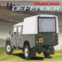 TRUCKMAN HARDTOP FOR DEFENDER 110 DOUBLE CAB