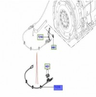 LINK SHIFT CONTROL 8 SPEED AUTOMATIC TRANSMISSION LR054364