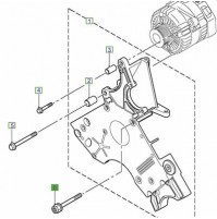 BOLT ALTERNATOR BRACKET PQM100110L