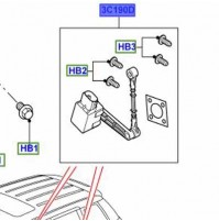 0REAR HEIGHT SENSOR RIGHT HAND LR020161