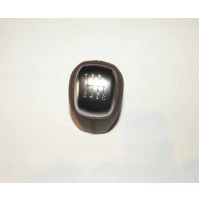 KNOB - CONTROL LEVER WITH LEATHER GEAR SHIFT KNOB DARK CHERRY LR024717