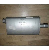 EXHAUST SILENCER-INTERMEDIATE V8 TWIN CARB NTC1322