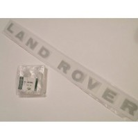 BONNET DECAL 'LAND ROVER' SILVER DISCOVERY 2  DAG100370MAD