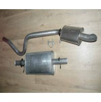 Centre Box, Rear and Pipes D1 300Tdi             ESR2391