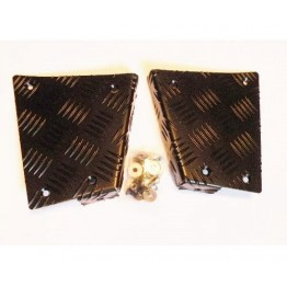 CP LOWER REAR CORNER HD DEF 90 BLACK CNKIT01-90/B