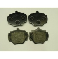 BRAKE PADS R SPLIT PIN NO SENSOR MINTEX~         SFP500190