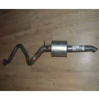 Tail Pipe & box D2 TD5 WDE100660